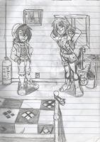 RXR-Dani and Duela by 26LordPain