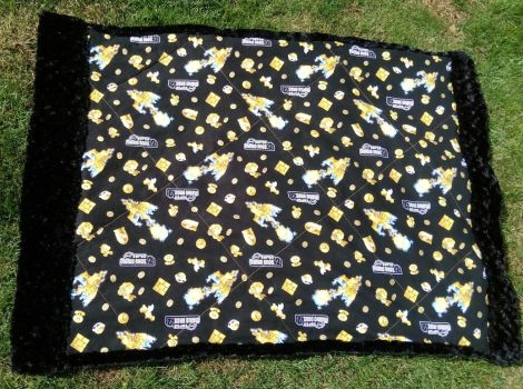 New Super Mario Bro. 2 blanket by Lesh4537