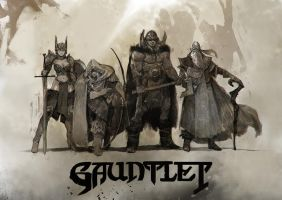 Gauntlet tribute by SvetoslavPetrov
