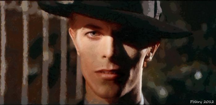 Bowie - The Man Who Fell To Earth II by paulnery