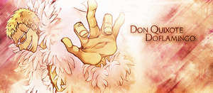 Doflamingo Signature by Kaso1907