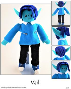 Vail Plushie by SoandSewPlushies
