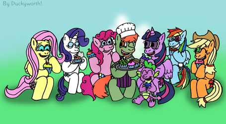Meeting Up With Old Friends by Duckyworth