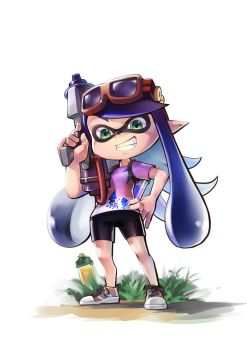 splatoon girl by siriuflong