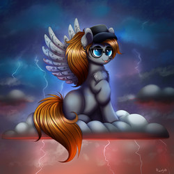 Storm Warning by RavenSunArt