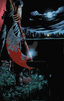 Lord of Gore 4 Cover colors by seanforney