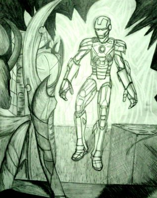 I Am Ironman by InkArtWriter