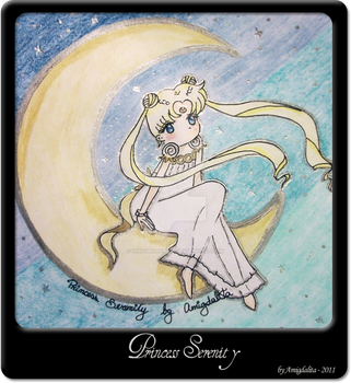 Princess Serenity by IamAmigdalita