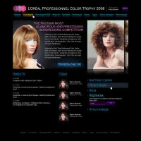 Loreal web site by horlet