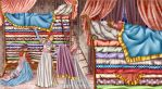The Princess and the Pea by LilyT-Art