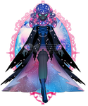 Galactic Night Bird outfit R248 (sold) by RumCandyAdopt