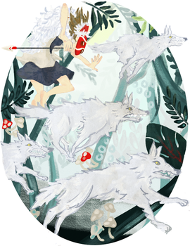 Princess Mononoke by Usoly