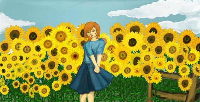 sunflower by Druid-Lesny