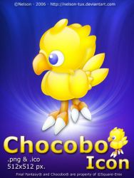 Chocobo Icon by Nelson-Tux