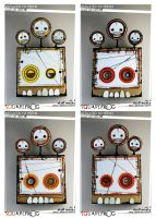 Reduced to TEETH: set 8 full set by SquareFrogDesigns