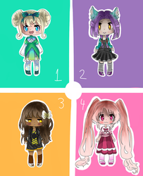 Girl adoptables .:Open:. (FROM MY OTHER ACCOUNT) by Sunnyppg123