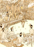 Gamelan And Penari by zzphardy