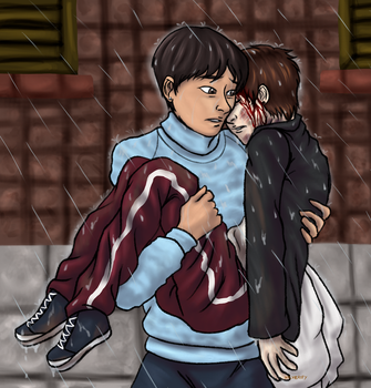 Fic Art: Someone to Carry You [Astro/VIXX] by X-I-L2048
