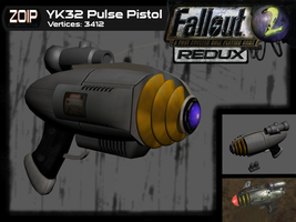YK32 Pulse Pistol by Mortecha