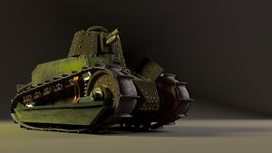 Renault FT 17 WIP by F-Euphrates