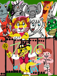 Jungle Jim's Zoo by tcr11050