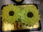 Sunflower cupcake pull apart.  by AliDee33