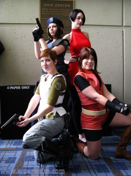 The Girls of Resident Evil by rogueymu