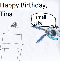 Happy B-day, Tina by supermarionifty4