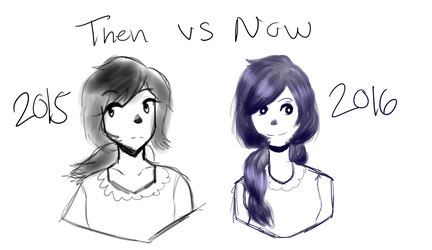 10.23.2016 Then and Now by ZukiCee