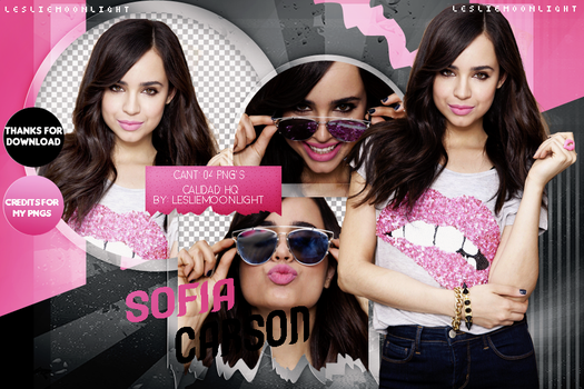 SOFIA CARSON|PACK PNG 08| LESLIE MOONLIGHT by LeslieMoonlight