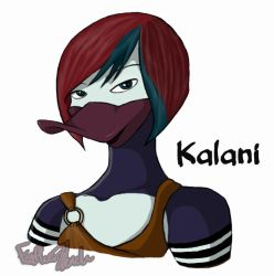 Kalani Portrait by Featherwench