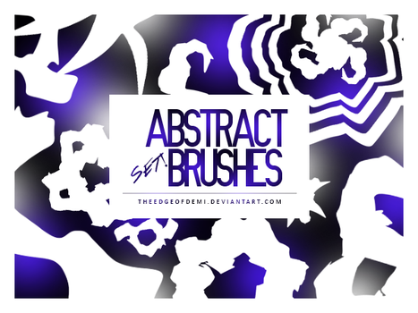 Abstract Brushes Set   LEE by TheEdgeOfDemi