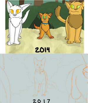 firepaw sneak peak also wowie by recovery-paws