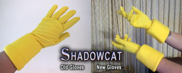 Old-New Gloves by Seiryuu-san