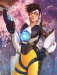 TRACER - 21 Days of Overwatch by DanLuVisiArt