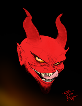 Little Devil by JTCreepyface8743