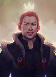 King Alistair by StarshipSorceress