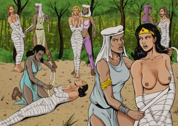 Mummification in the forest by Eviltrevor