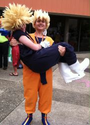 DBZ love by VeronicaPrower