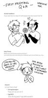Q and A from webtoon by Vey-kun