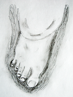 Foot Sketch 1 by Churichan