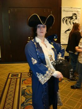 AFO Pirate Cosplayer by BladeScavenger