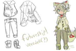 (yes i did art gdi ruby) futureskip veredell by 1Greengrass1