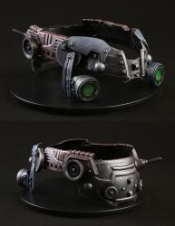 Kit-bash Helmet - Animatronic Helmet Acc. by XiliansFan