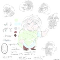 Howlite [Character Reference Sheet] by cricketmilk