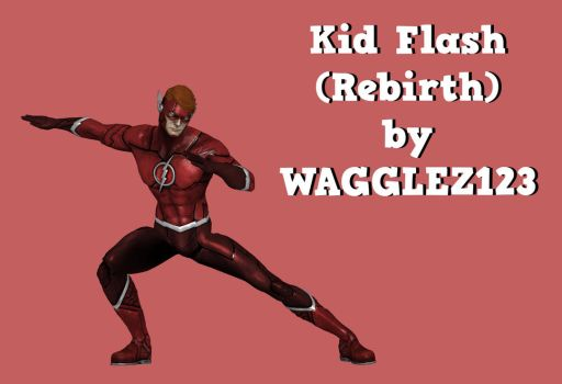 Kid Flash (Rebirth) by Wagglez123