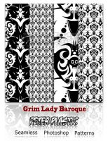 Grim Lady baroque by PeterPlastic