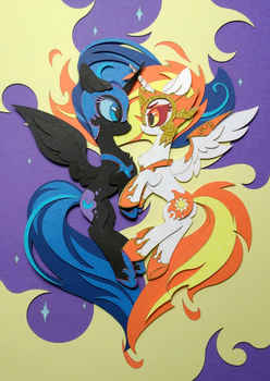 Opposites Attract By tomatocoup by jiuweidehuli
