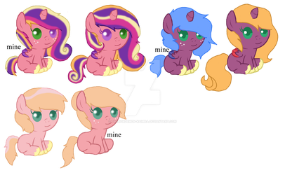 Big Mac Foals by theliondemon-kaimra