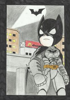 Chibi Batman by remymcginnis